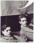 Man Ray. Tristan Tzara with René Crevel (1928)