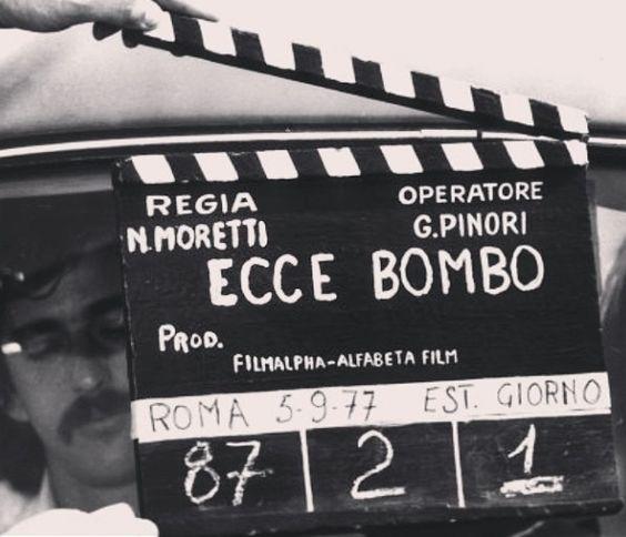 Nanni Moretti: #backstage dal set di Ecce Bombo (1977)