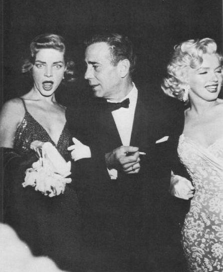 Bogart Bacall Monroe