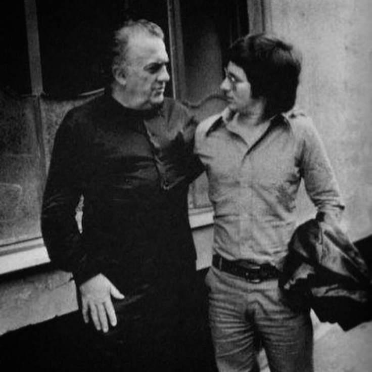 Fellini e Spielberg a Roma, 1971