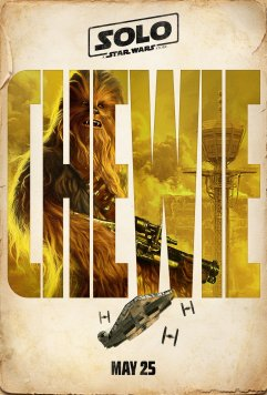 solo chewie poster