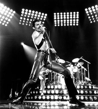 for Ideas - 1011moustache - Freddie Mercury of the rock band QUEEN, circa 1980. CREDIT: Neal Preston/1980 (from the morgue) Library Tag 05102006 Living/Arts Library Tag 09042008 Sidekick Calendar Edition
