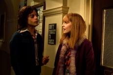 """Rami Malek as Freddie Mercury , left, and Lucy Boynton as Mary Austinstar in Twentieth Century Fox's """"Bohemian Rhapsody."""""""